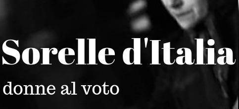 Sorelle d'Italia - donne al voto